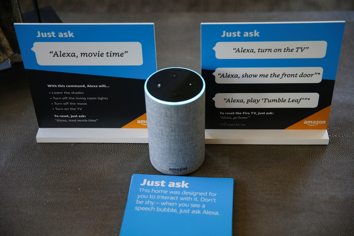 Amazon's luidspreker Alexa