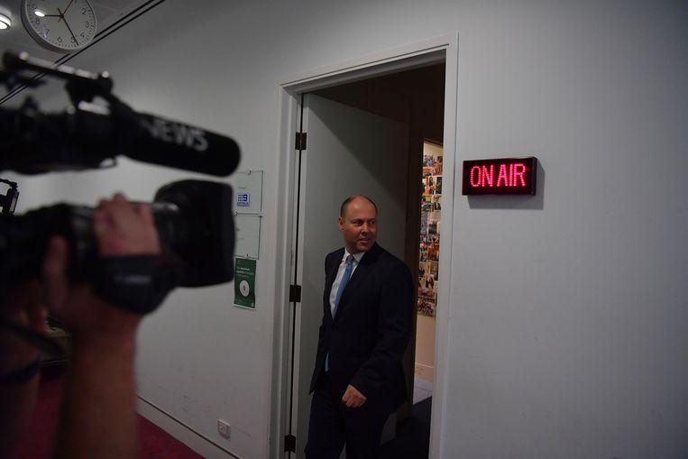 De Australische minister van Financiën Josh Frydenberg. Beeld Getty Images