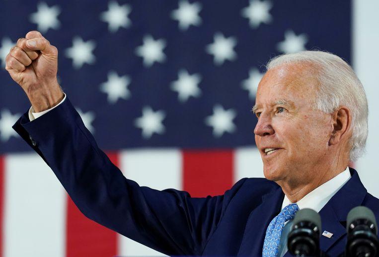 De Democratische presidentskandidaat Joe Biden. Beeld REUTERS
