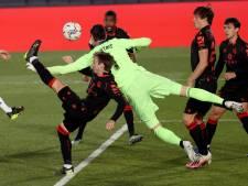 Le Real se fait peur avant le derby contre l'Atlético