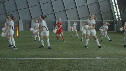 Nieuwe 'Love Football'-campagne van KBVB moet meisjes aan het voetballen brengen