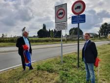 Zwaar vrachtverkeer vanaf vandaag niet meer welkom in kernen van Baarle