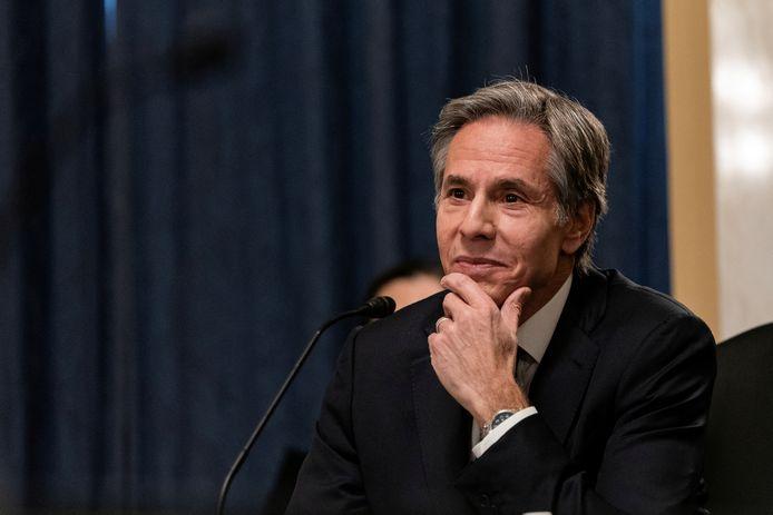 De toekomstig minister van Buitenlandse Zaken van de VS, Anthony Blinken.