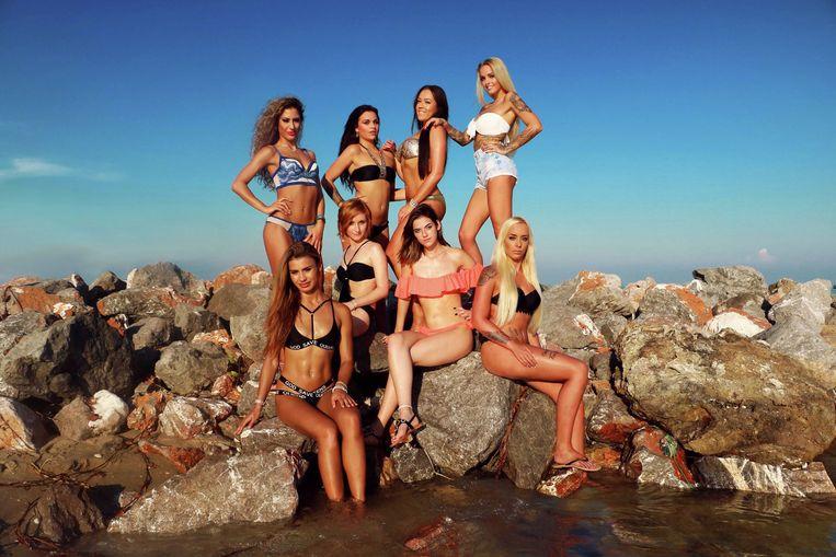 De verleidsters van dit seizoen, die alleen geprezen worden om hun sexy lichaam.  Beeld SBS Belgium