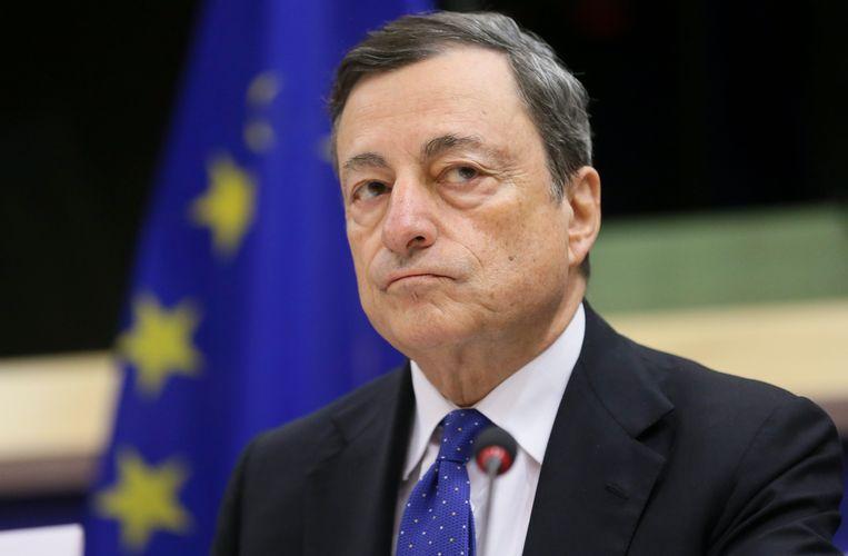 De aanvallen richtten zich op Mario Draghi's emailaccount bij de Banca d'Italia, waarvan hij president van was voor zijn overstap naar de ECB in 2011. Of de pogingen succesvol waren, is niet bekend. Beeld EPA
