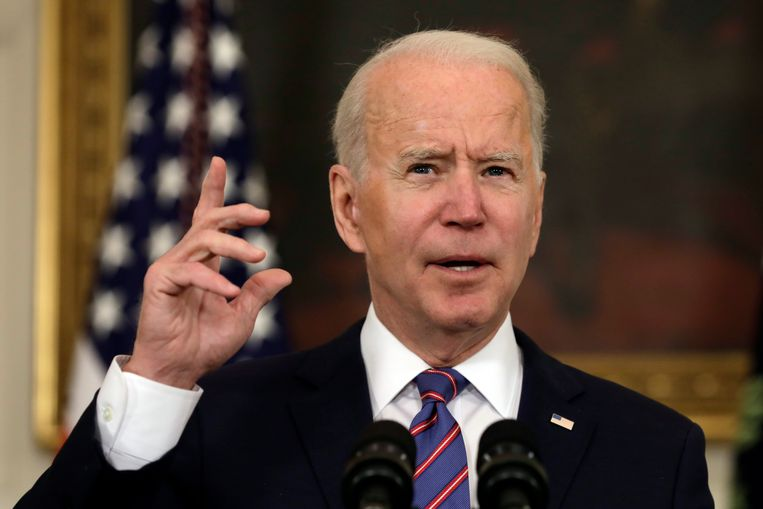 President Joe Biden. Beeld Photo News