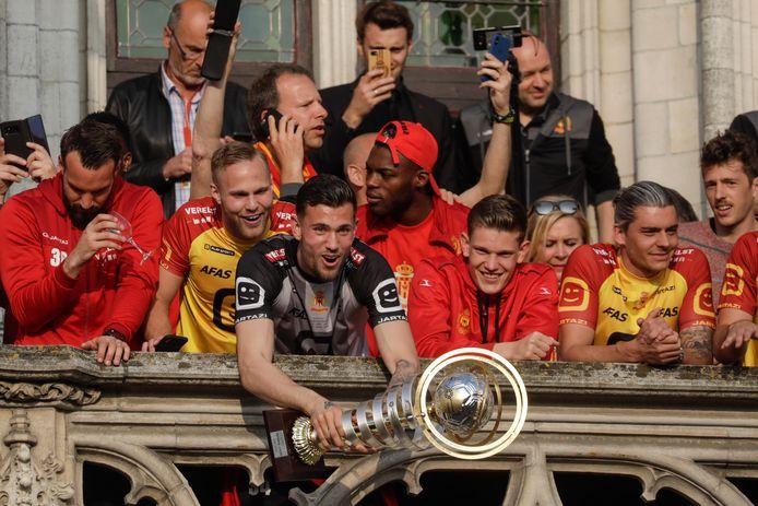 Het grootste succes van Michael Verrips: het winnen van de beker met KV Mechelen.