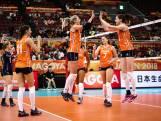 Volleybalsters stunten op WK tegen wereldkampioen