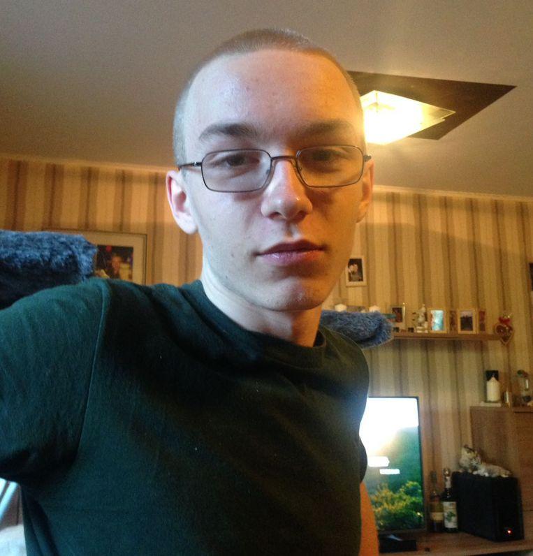 Vermoedelijke dader Marcel Hesse stak in de kelder van een rijtjeshuis de negenjarige Jaden dood en pochte over de misdaad op het 'darkweb'. Beeld AFP