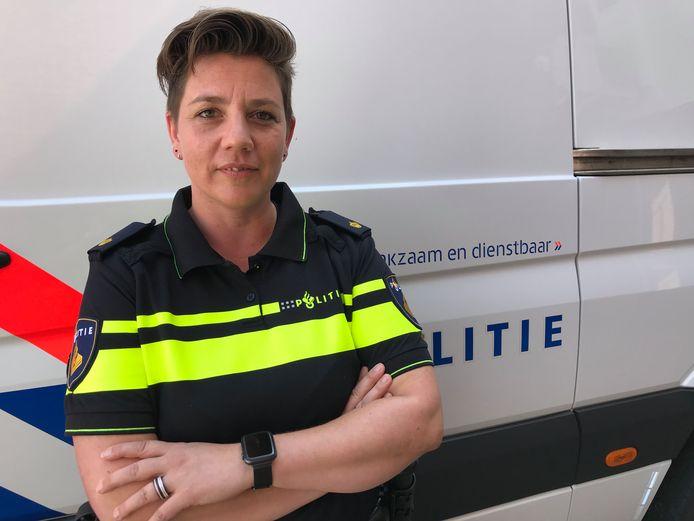 Martine Jacobs, teamleider Team Grootschalige Opsporing.