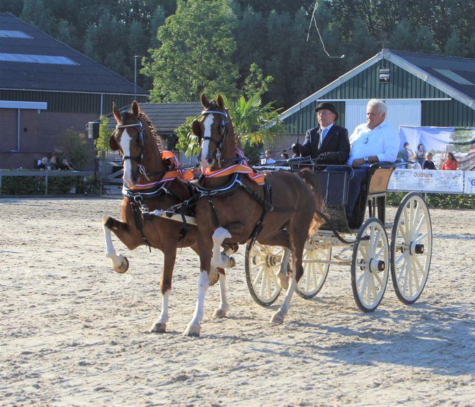 Martien Verboord tijdens een wedstrijd.