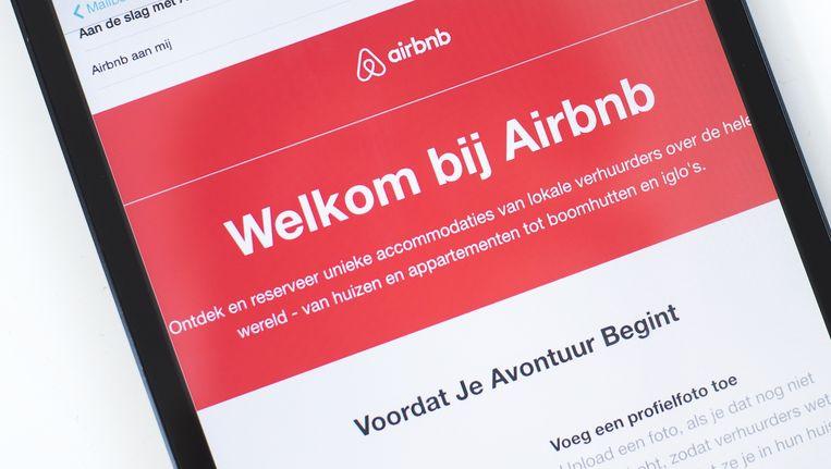 Huib Kraaijeveld (44) mag in zijn woning in Bos en Lommer blijven. Zijn huisbaas wilde zijn huurcontract ontbinden, omdat woning via Airbnb was onderverhuurd. Beeld ANP