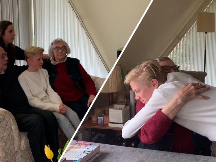 Gevaccineerde oma: 'Knuffelen moeten we écht weer leren'