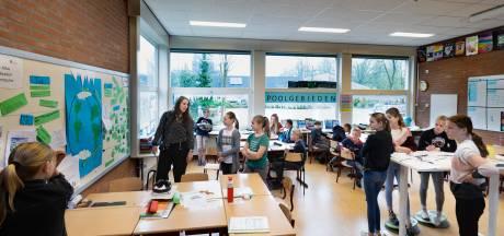 VierKeerWijzer: Kinderen van 't Rendal in Lierop leren op hun eigen manier over poolgebieden en planeten