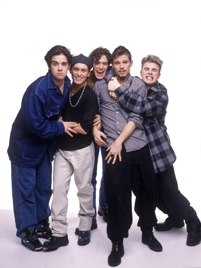 Thake That in de begindagen: Robbie, Mark, Howard, Jason en Gary