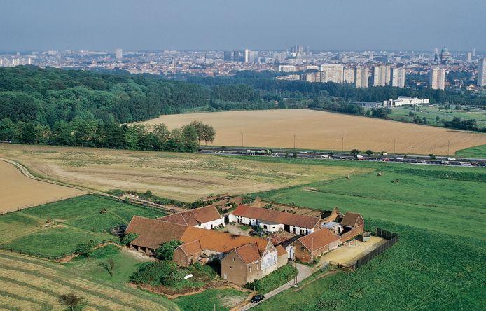 Archiefbeeld. Het historische Hooghof bevindt zich in de laatste groene long van Zellik, vlakbij de hoofdstad.