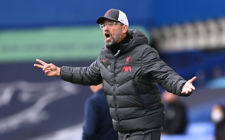 Jurgen Klopp, trainer van Liverpool, is een van de vele Duitse coaches.  Beeld BSR Agency