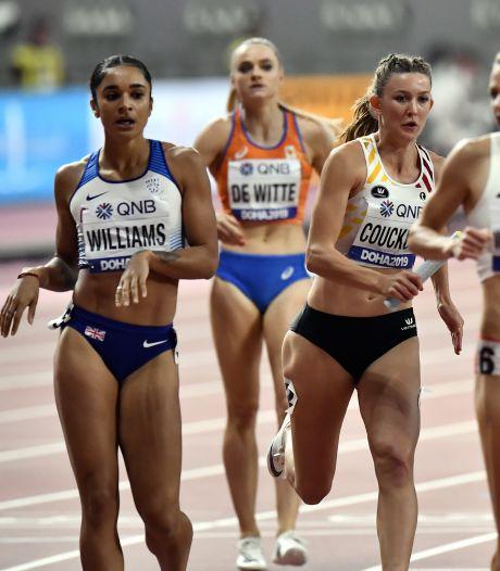 Estafettevrouwen vervullen bijrol op 4x400 meter