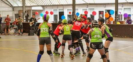 Roller Derby: 'Na een wedstrijd hoor  je bont en blauw te zijn'