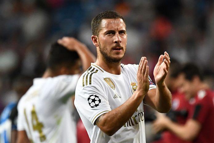 Le premier but officiel d'Eden Hazard avec le Real attendra encore un peu.