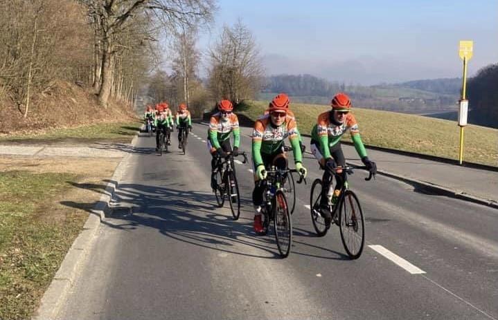 De renners van Urbano hebben zich de voorbije weken voorbereid in de Ardennen.