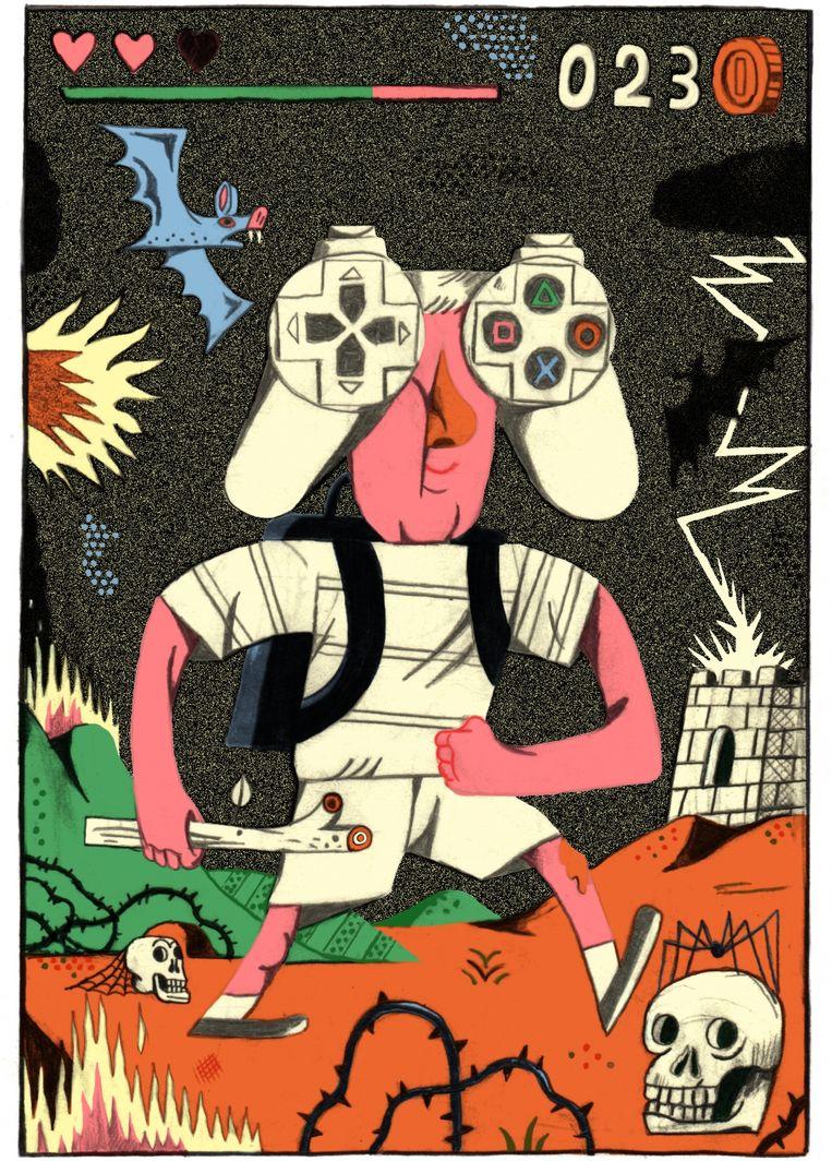 'Een generatie die volop games zoals 'Fortnite' speelt, is empathischer, communicatiever en heeft beter leren samenwerken' Beeld