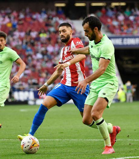 Carrasco et l'Atletico de Madrid perdent des plumes à domicile contre Bilbao