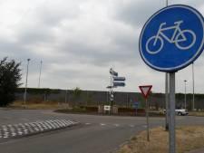 De laatste grote rotonde waar fietsers nog geen voorrang hadden