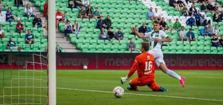 Groningen slaagt, nog zonder Robben, voor eerste test met publiek
