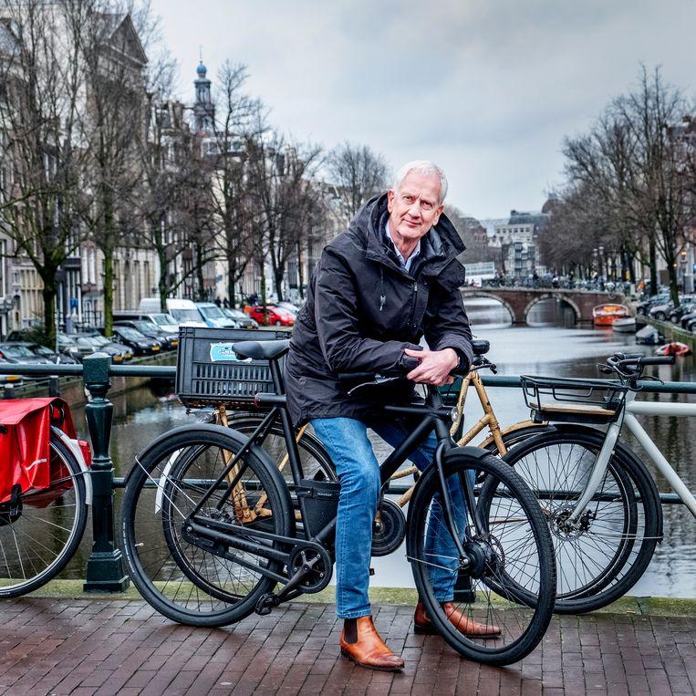 Wouter Deelman ging met Taxi Electric verder als Travel Electric. Beeld Raymond Rutting / de Volkskrant
