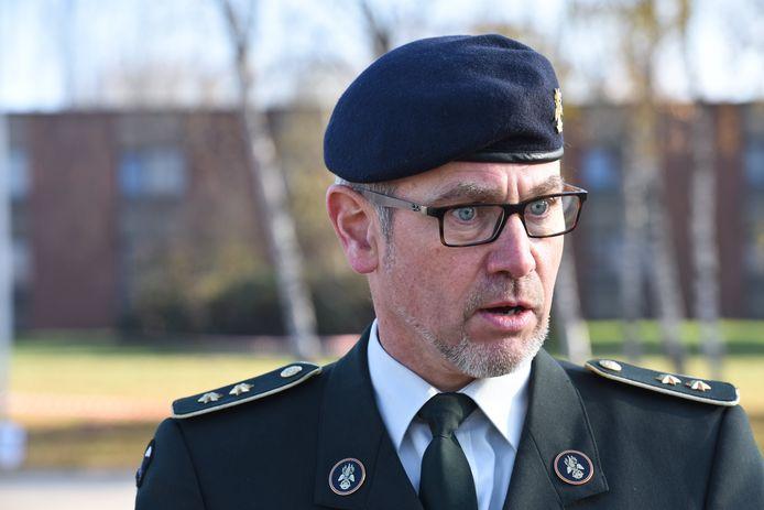 Generaal Marc Thys, die te boek staat als een vernieuwer, zou in aanmerking komen voor de positie van crisismanager.