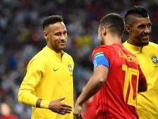 Dans le top 5 de Neymar, une place pour Eden Hazard