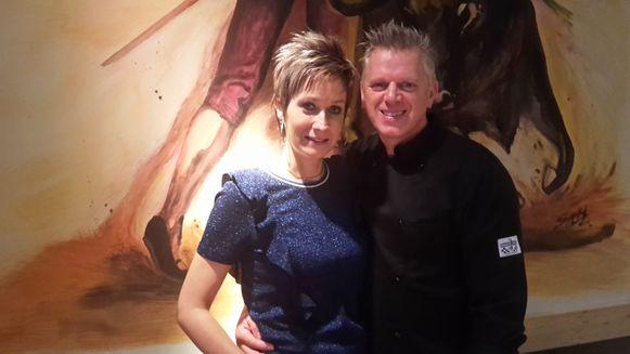 Ellen Geerts en chef-kok Peter Cambré.