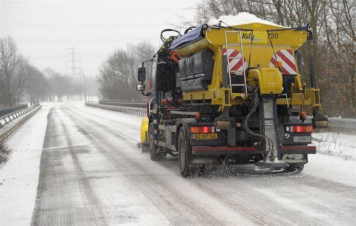 Een extract van druivenschillen zorgt straks voor snel dooiende wegen.