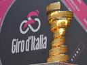 De trofee van de Giro d'Italia.