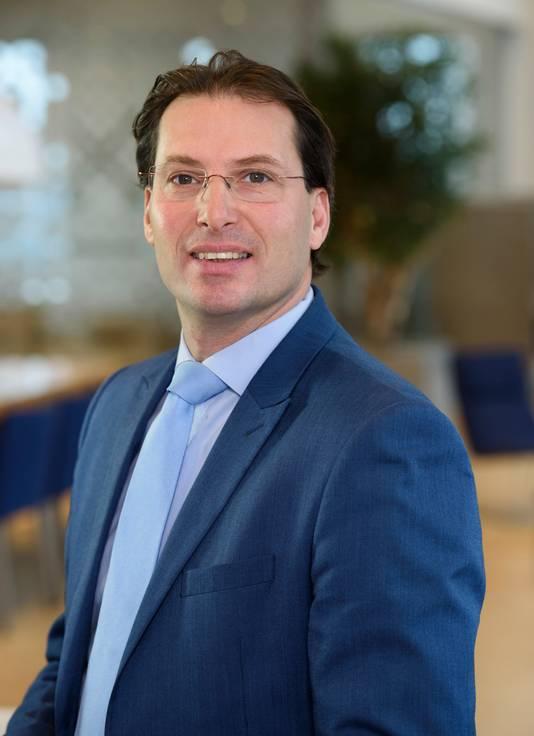 Directeur Marc van der Linden van netbeheerder Stedin.
