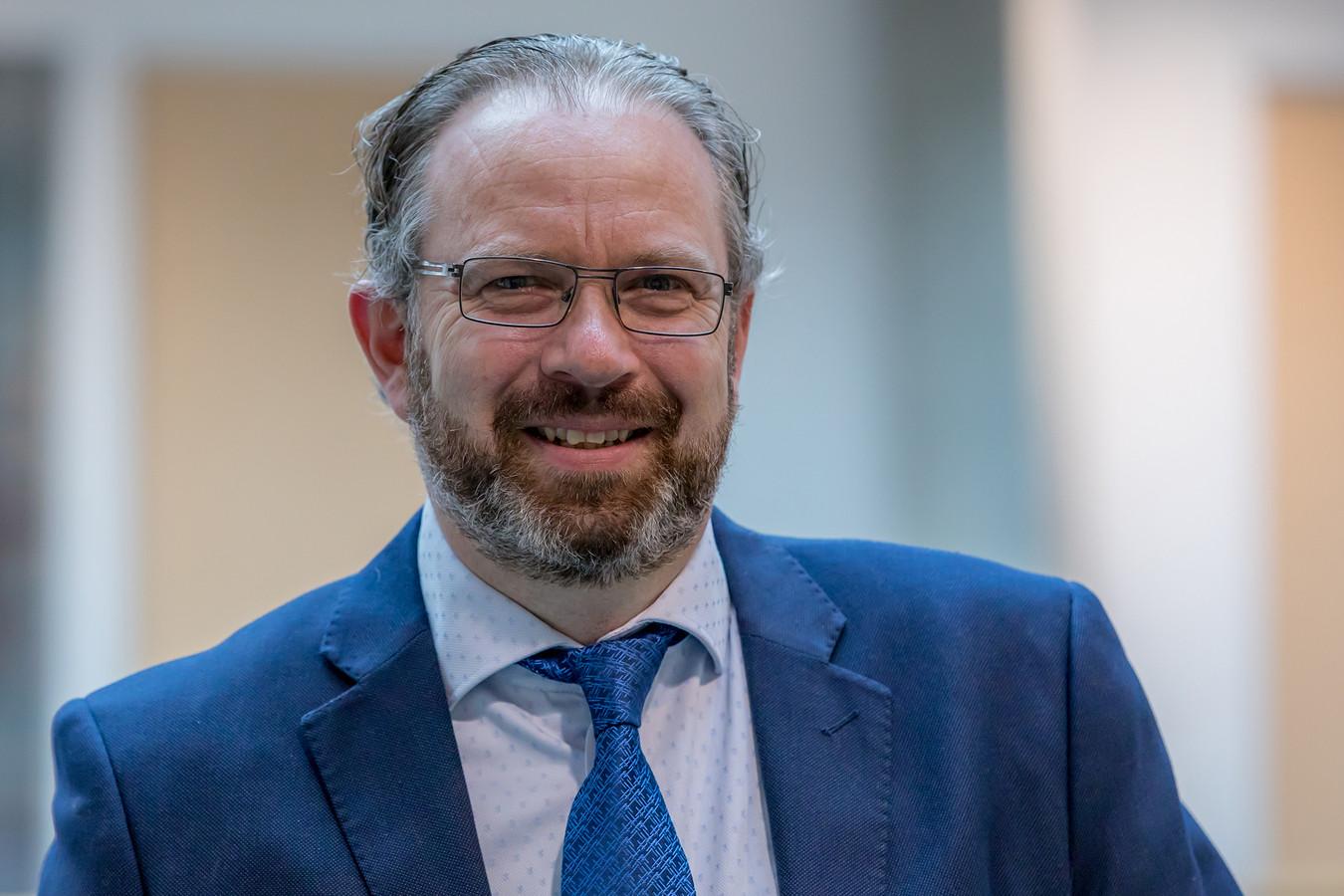 Marcel Willemse vertekt als raadslid voor Leefbaar Schouwen-Duiveland.