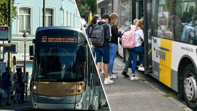 Maand gratis De Lijn voor scholieren van eerste middelbaar en schoolabonnement van MIVB voor amper 12 euro