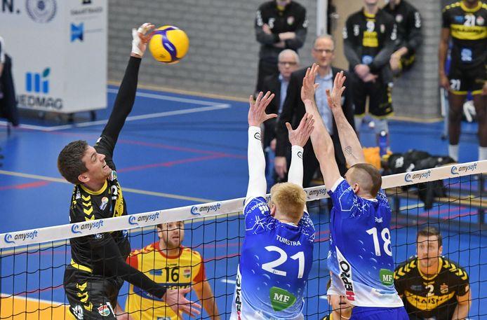 Dynamo en Lycurgus gaan vanaf 10 april uitvechten wie de opvolger wordt van Orion als volleybalkampioen van Nederland.