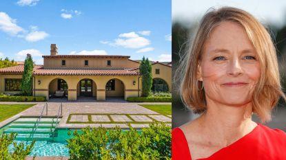 BINNENKIJKEN. Jodie Foster verkoopt haar villa met een sterke sentimentele waarde