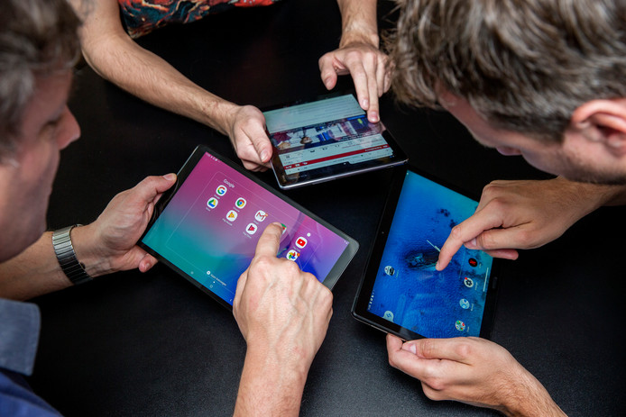 De hype is voorbij, maar we gebruiken tablets nog volop.