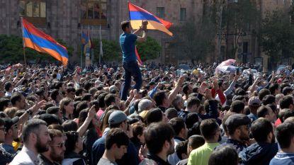 Armeense premier neemt ontslag na massaprotesten