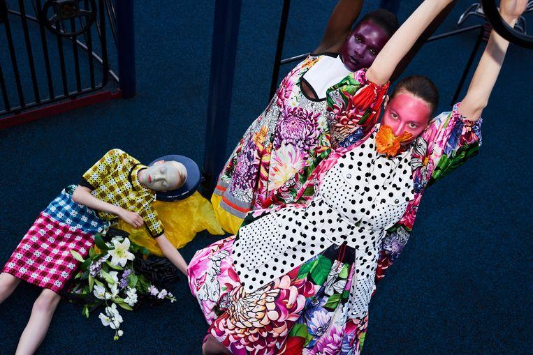 Ontwerpen van Mary Katranzou Beeld Petrovsky & Ramone / Gemeentemuseum Den Haag