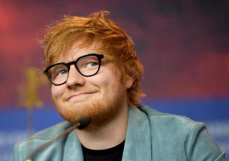 Ed Sheeran was vorig jaar de meest populaire en best verkopende artiest. Beeld EPA