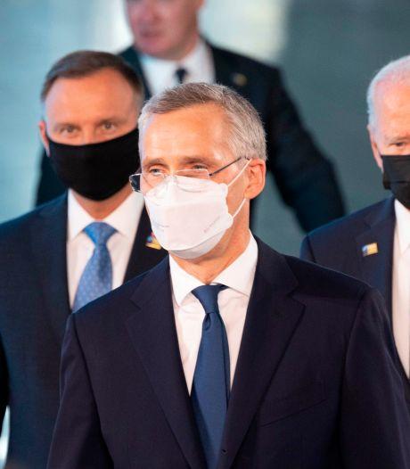Navo maakt doorstart, en Biden stuurt