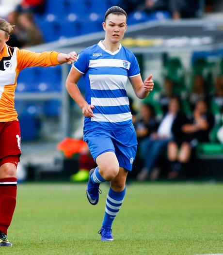 Zege PEC Zwolle-vrouwen na productieve eerste helft
