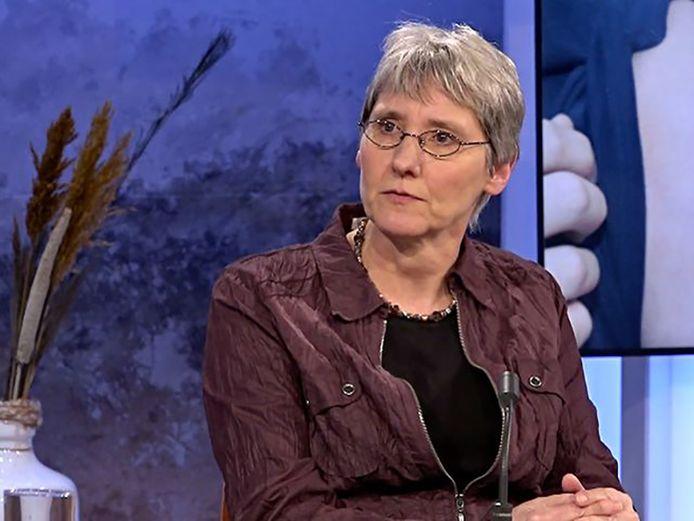 Anke Huckriede , hoogleraar vaccinologie aan de Rijksuniversiteit Groningen.