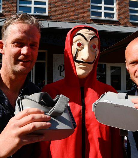 Duo uit Dalfsen presenteert in regio spel in virtuele wereld: tijdens een etentje samen de bank beroven