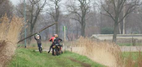 Actie om verstoren van de natuur tegen te gaan, crossers gepakt op Gorp en Roovert