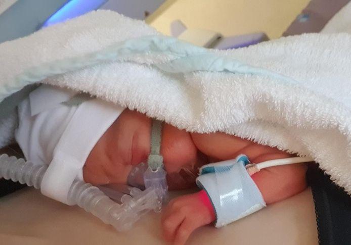 Kleine Herman Kersten is geboren in een tandartspraktijk